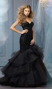 black wedding dresses bridal fashion black wedding dresses