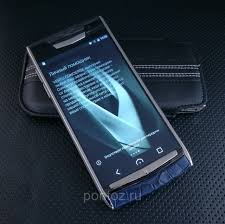 vertu phone 2016 телефон vertu signature touch clous de paris navy alligator new