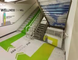 stairwell graphics google search commercial architectural