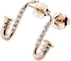 gold stud earrings uk rockys stud earrings saxophone gold thomann uk