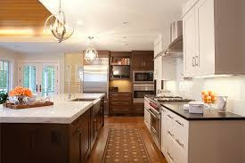 Brookhaven Kitchen Cabinets Quartzite Countertops Kitchen Transitional With Farmhouse Sink
