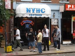 new york tattoos channels cbgb bowery boogie