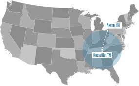 Knoxville Tennessee Map by Knoxville Tn Freight Rail Moving More Goods On Less Fuel