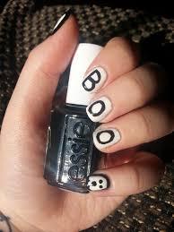halloween nail art 2 u2013 boo purely polished