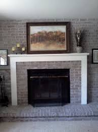 reface brick fireplace with stone home design ideas