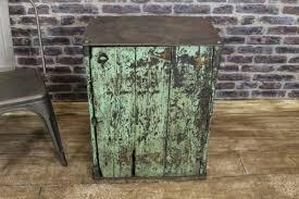 Vintage Metal Storage Cabinet Vintage Metal Cabinet Small Distressed Industrial Storage Cabinet