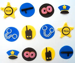 firefighter cupcake toppers cake toppers our special day officer fireman groom