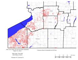 Perrysburg Ohio Map Active Oil And Gas Wells In Ny State Damascus Citizens For