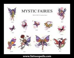 mystical fairy tattoos