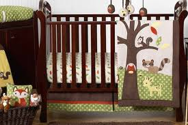 woodland animals baby bedding woodland forest animals baby bedding 11pc crib set by sweet jojo
