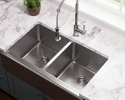 Stainless Steel Sinks And Faucets For Kitchens And Baths - Apron kitchen sinks