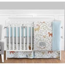 Jojo Baby Bedding Bed U0026 Bedding Sweet Jojo Designs Woodland Toile 9 Piece Crib