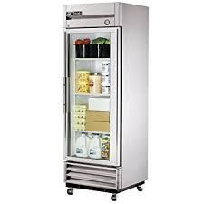 amazon com true mfg t 19g 1 door 19 cu ft glass door