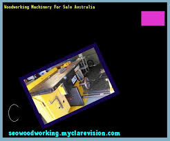 Used Woodworking Machinery Perth W A by