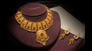 antique gold necklace images Antique gold necklace designs jpg