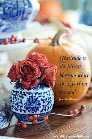 gratitude quote inspiring thanksgiving quote celebrating