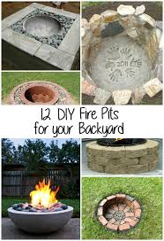 Fire Pits For Backyard by 12 Diy Fire Pits For Your Backyard The Craftiest Couple