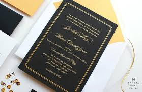 black and gold wedding invitations black and gold wedding invitations wedding invitations invite
