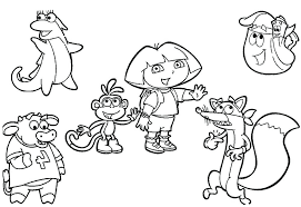 nick jr dora printable coloring pages pretty nick jr coloring pages online pretty nick jr coloring pages