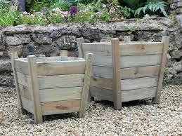 large wood planters u2013 smartonlinewebsites com