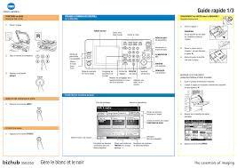 konica minolta bizhub 350 manuel d u0027utilisation pages 3 aussi