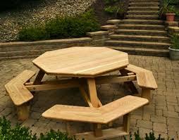 Hexagon Picnic Table Picnic Tables At