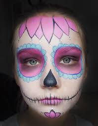sweet sugar skull makeup tutorial halfpint party design