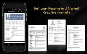 The Resume Builder Resume Builder Android Apps On Google Play
