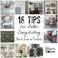 18 tips for better craigslisting score on furniture
