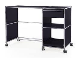 Schreibtisch Metall Usm Haller Schreibtisch Auf Rollen Typ 2 Von Fritz Haller U0026 Paul