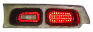 how to make custom led tail lights 1972 1974 dodge challenger led tail light panels digi tails