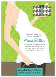 baby shower invitations belly green presents invitation cards