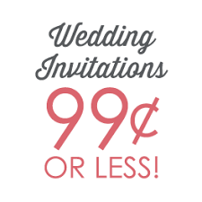 sle of wedding programs ceremony cheap wedding invitations s bridal bargains