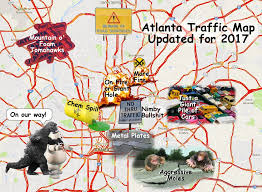 Map Of Atlanta Candace Phillips Candepinkhair Twitter