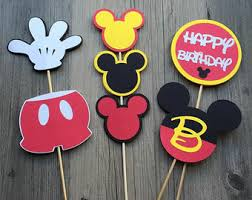 mickey mouse center pieces mickey mouse centerpiece etsy