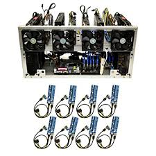 how to open a miner s l amazon com titan 8 open air gpu mining rig frame computer case