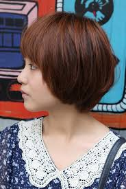 hair cut feathered ends cute korean short haircut layered bob with feathered ends