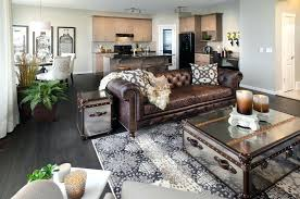 brown couches living room gray and brown living room elegant family room photo in orange