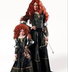 Merida Halloween Costume Disney Brave Merida Princess Vampire Costume Sewing Pattern