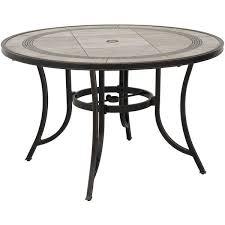 Tile Top Patio Table Barnwood 48 Tile Top Patio Table T R48 T6 Barnwd World