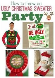 How To Decorate An Ugly Christmas Sweater - ugly christmas sweater party ideas when we get our new house