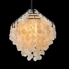online shop iron u0026sheel pendant light led crystal euro country