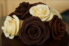 chocolate flowers chocolate roses birthday cake vickylizzy