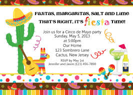 Sample Invitation Card For Christmas Party Mexican Party Invitations Theruntime Com