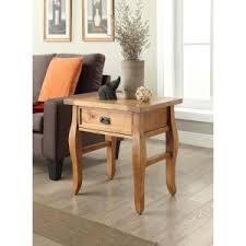 Pine End Tables Linon Home Decor Santa Fe Antique Pine Storage End Table