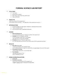 formal lab report template beautiful lab template gallery documentation template exle