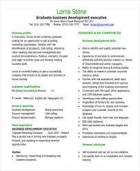 business development executive resume financial executive resume