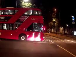 London Double Decker Bus Caught On Video Rolling Onto Main Road