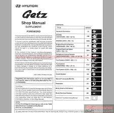 2005 hyundai tucson repair manual hyundai getz 2005 service manual auto repair manual forum