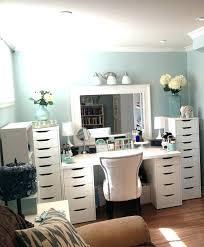mirrored makeup vanity table small makeup table with mirror vanity desk with mirror makeup